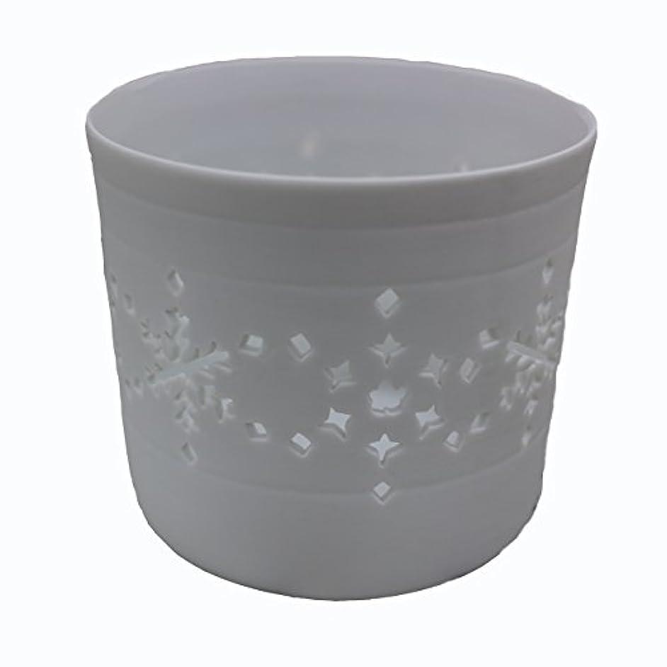磨かれた爵夫キャンドルカップ(ティーライト付き) 結晶