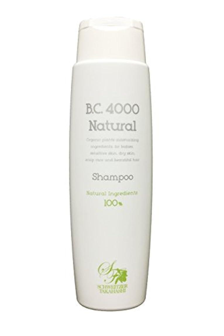 調子民間人バルクB.C.4000 ナチュラル 100%天然由来 ノンシリコンシャンプー オーガニック 植物エキス配合 (250mL)