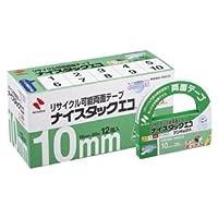 (業務用セット) ニチバン ナイスタックエコ(R) ブンボックス(TM) NWBB-10ECO 12巻入 【×2セット】