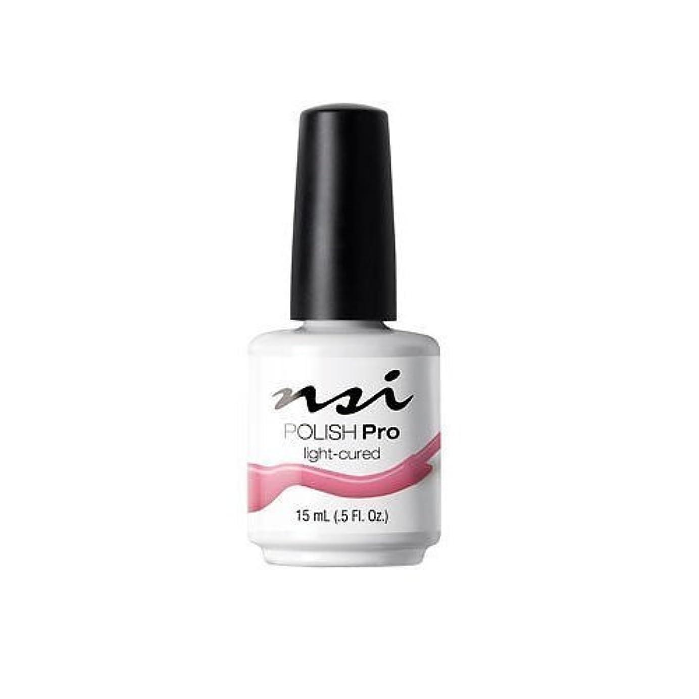 側面特許しっかりNSI Polish Pro Gel Polish - Pink Flamingo - 0.5oz / 15ml