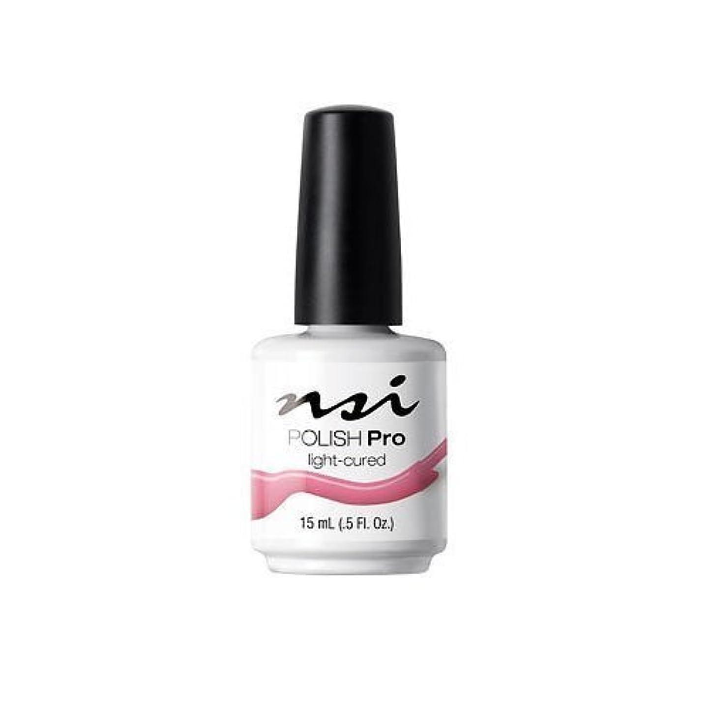 トーナメントアルミニウム地中海NSI Polish Pro Gel Polish - Pink Flamingo - 0.5oz / 15ml