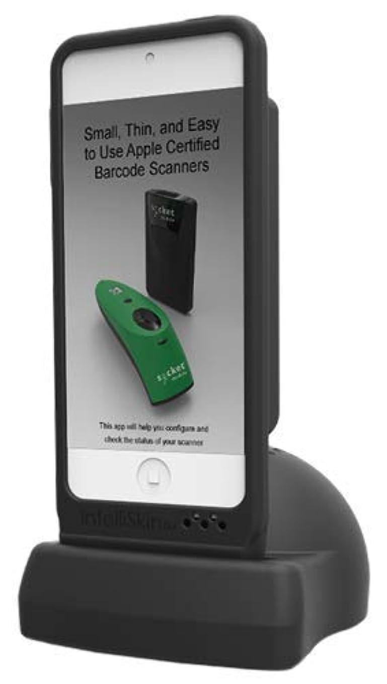 促す買うカウンタDuraCase&充電ドック for iPhone6/7/8:S800/850バーコードスキャナーとiPhone6/7/8を一体にするケース