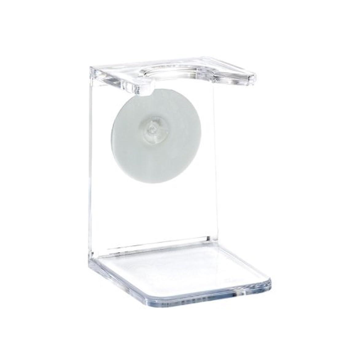 覗く音縞模様のミューレ シェービングブラシスタンド/プラスチック  (RH5)