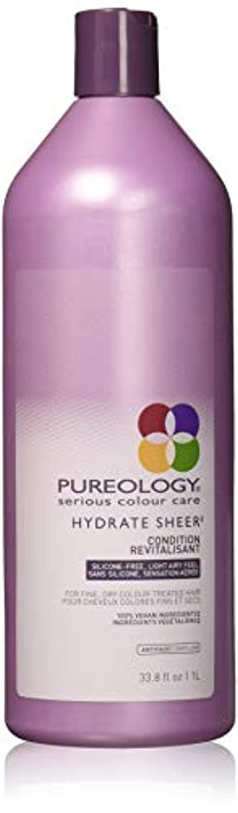 革新狂信者出撃者Pureology 水和物シアーコンディショナー 33.8 fl。オンス 0