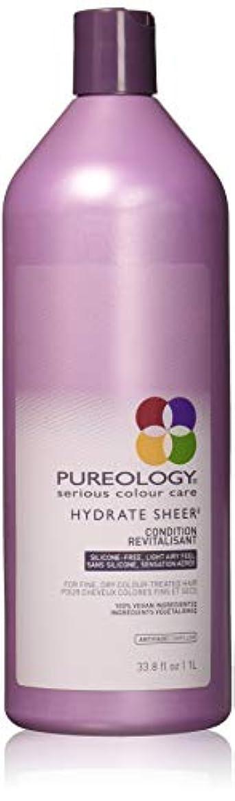 Pureology 水和物シアーコンディショナー 33.8 fl。オンス 0