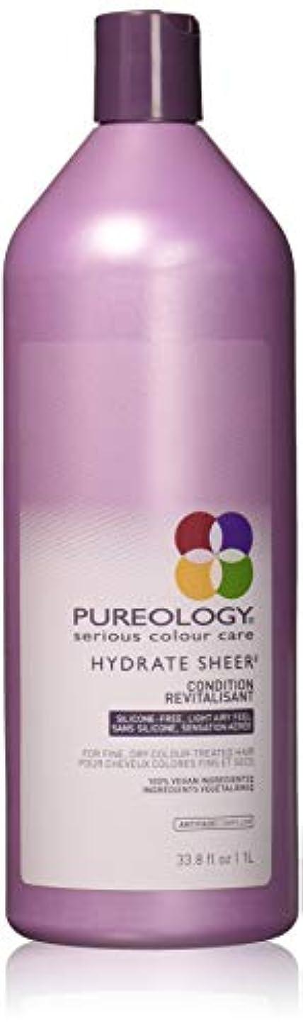 文明自宅でブランド名Pureology 水和物シアーコンディショナー 33.8 fl。オンス 0