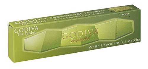 【販路限定品】ゴディバ (GODIVA) ザ タブレット ホワイトチョコレート 宇治抹茶 1個×8箱