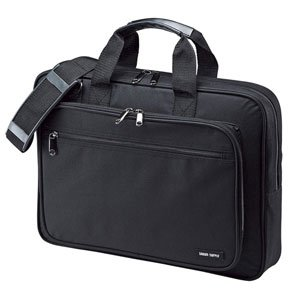 PCキャリングバッグ BAG-U52BK2 [15.6型ワイド対応 ブラック]