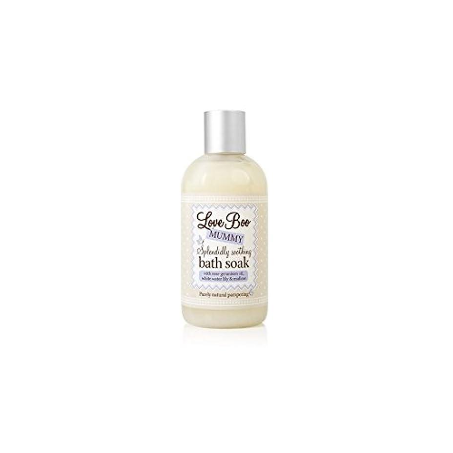 貸す想起効能あるLove Boo Splendidly Soothing Bath Soak (250ml) (Pack of 6) - ブーイング見事なだめるようなお風呂が大好き(250ミリリットル)を浸します x6 [並行輸入品]