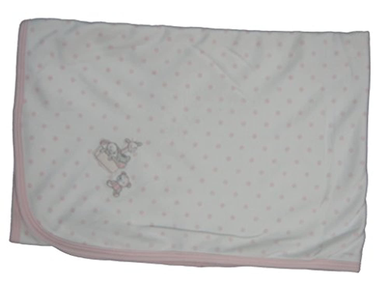Kissy Kissy baby-girls Infantトイボックスドット印刷Receiving Blanket