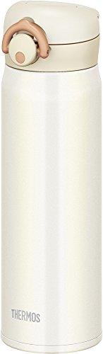 サーモス 水筒 真空断熱ケータイマグ 【ワンタッチオープンタイプ】 500ml クリームホワイト JNR-500 CRW