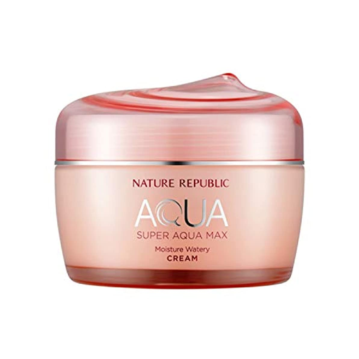 逆にマウスピースグリットネイチャーリパブリック(Nature Republic)スーパーアクアマックスモイスチャー水分クリーム[乾性用] 80ml / Super Aqua-Max Moisture Moisture Cream (Dry Skin...