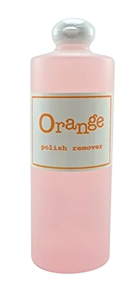 白いカウントアップ珍味オレンジポリッシュリムーバー 500ml