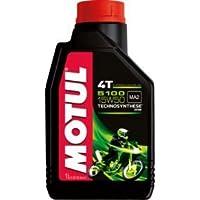 MOTUL(モチュール) 5100 4T 15W50 バイク用化学合成オイル 1L[正規品] 11204211