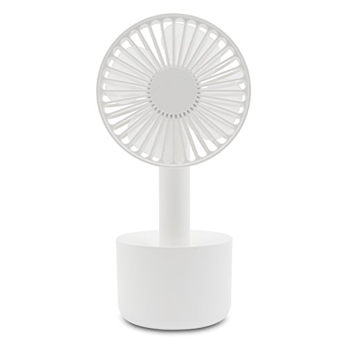 Relohas 携帯扇風機 USB扇風機 充電式でモバイル 手持ち ファン 風量3段階調節 小型なのに驚きの風量
