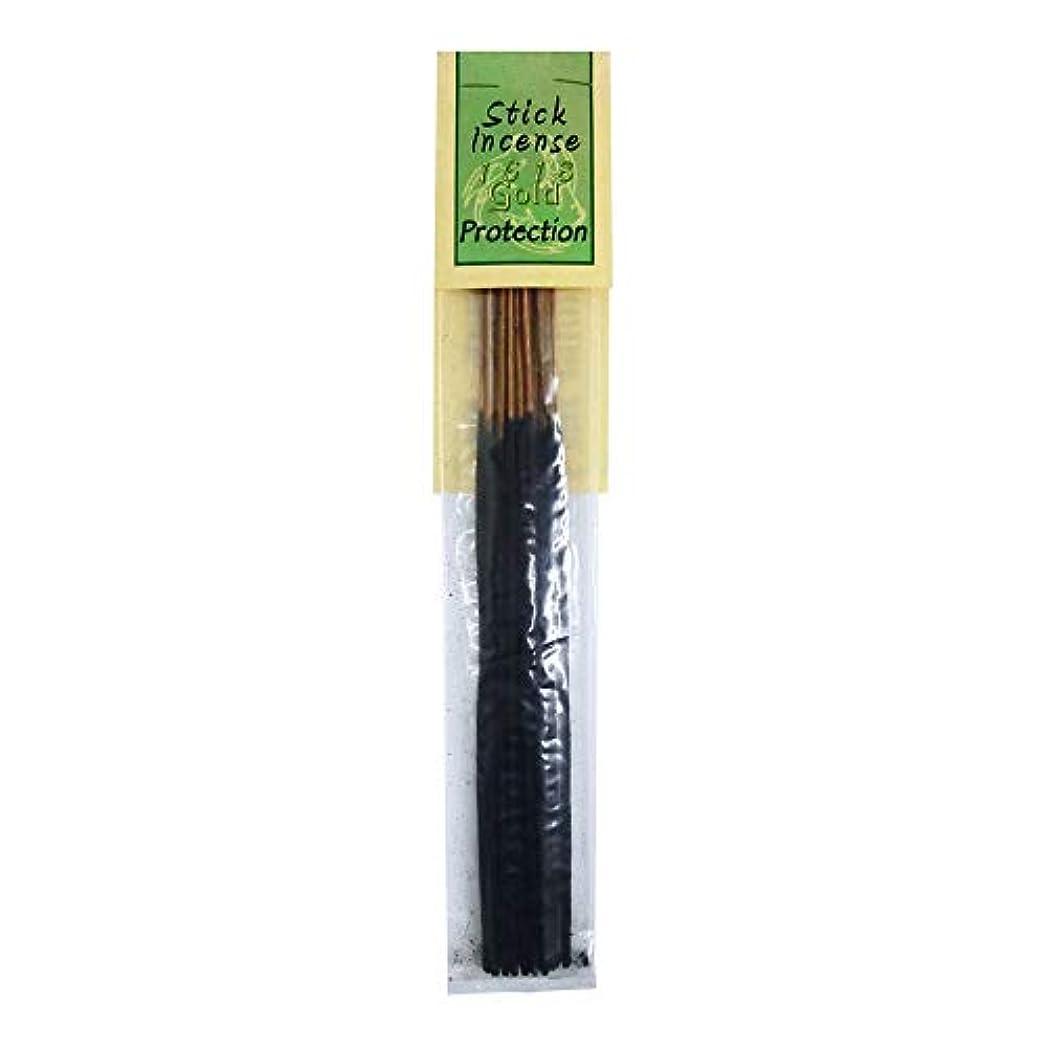 取り組む三番革命的お香 1618 Gold Protection プロテクション スティックインセンス 魔法のお香