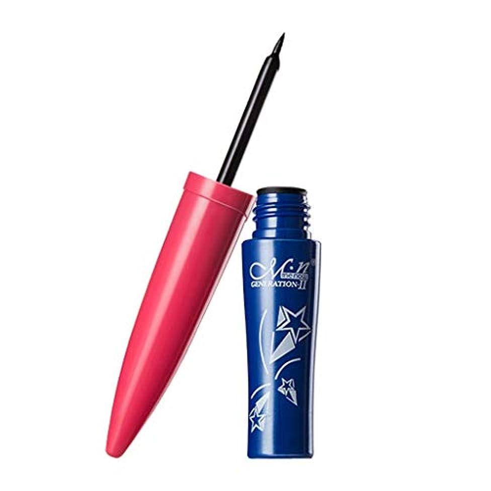 航空海岸ロボット女性Menow防水美容メイクアップ化粧品ブラックリキッドアイライナーペン
