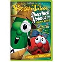 Capitol Christian Distribution Veggie Tales: Sheerluck Holmes and the Golden Ruler DVD 537192