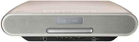 パナソニック コンパクトステレオシステム ハイレゾ音源対応 Bluetooth対応 ウォームゴールド SC-RS55-N
