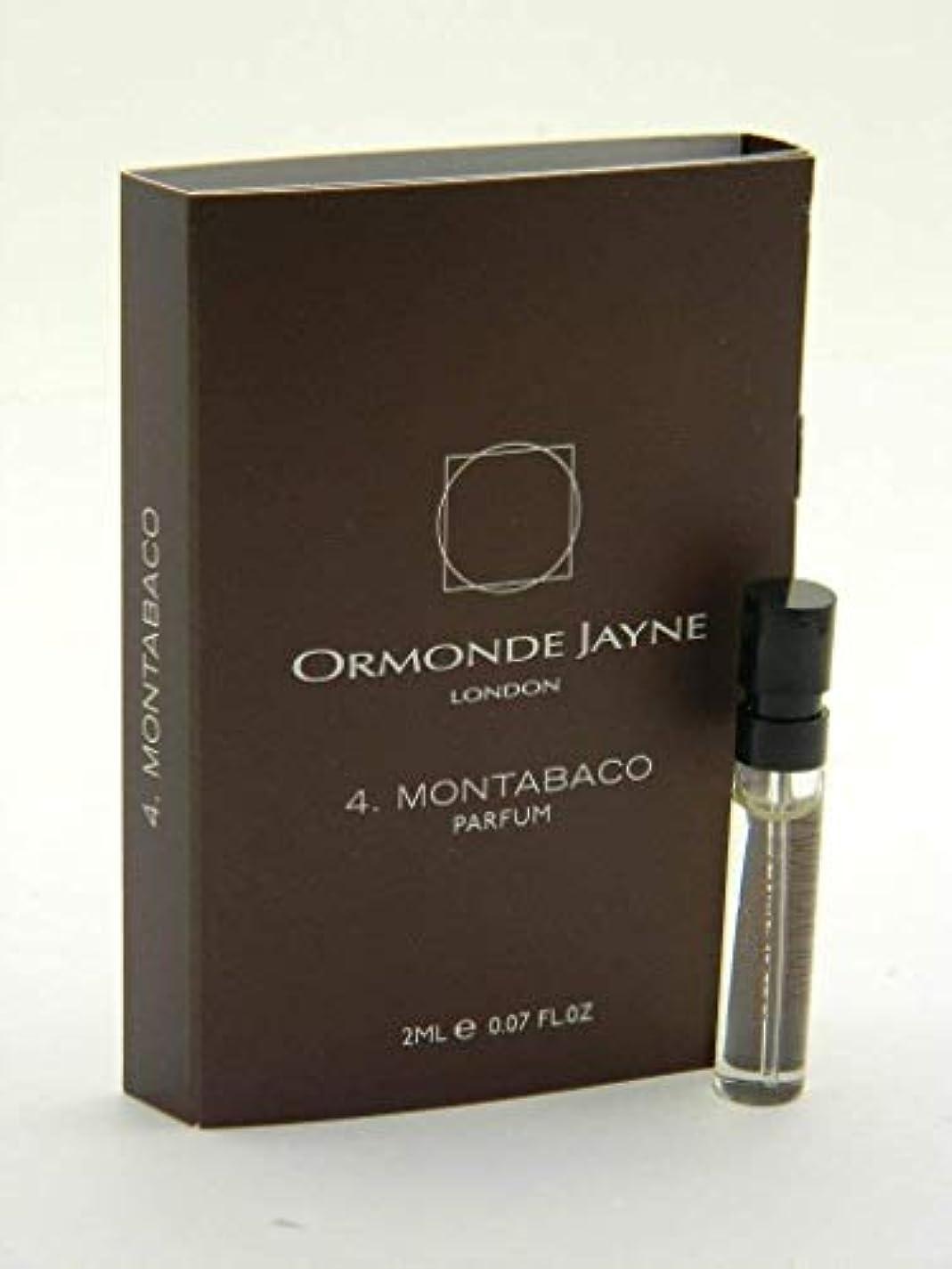少なくとも抵抗力がある代替案オーモンド ジェーン モンタバコ パルファン 2ml(Ormonde Jayne Montabaco Parfum Vial Sample 2ml)