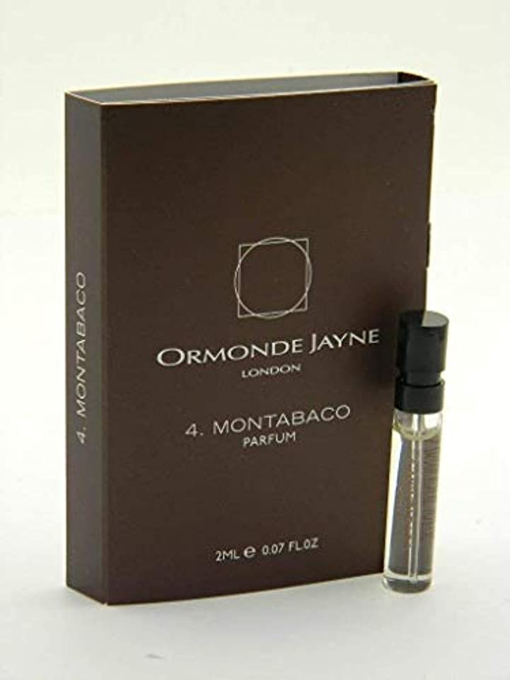 マーチャンダイジング禁じる偏心オーモンド ジェーン モンタバコ パルファン 2ml(Ormonde Jayne Montabaco Parfum Vial Sample 2ml)
