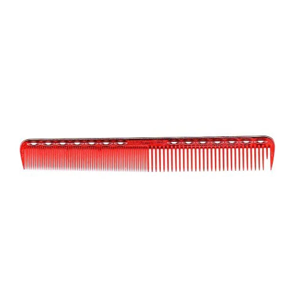絶滅ご近所テクスチャーYS Park Cutting Comb #339 In Ruby Red from ProHairTools [並行輸入品]
