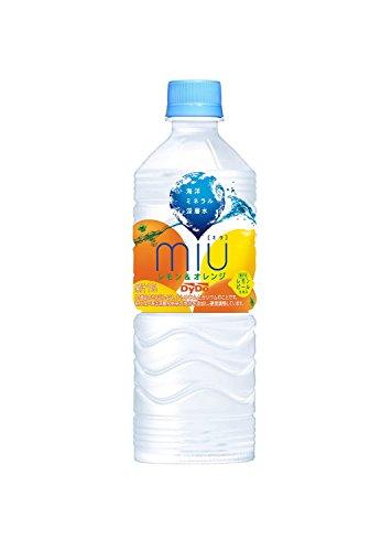 ダイドー miu ミウ レモン&オレンジ 550mlペット×24本×2ケース