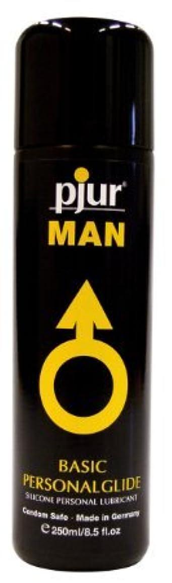 クランシー寄り添うせせらぎPjur Man Basic Personalglide Flasche Lubricant - 250ml