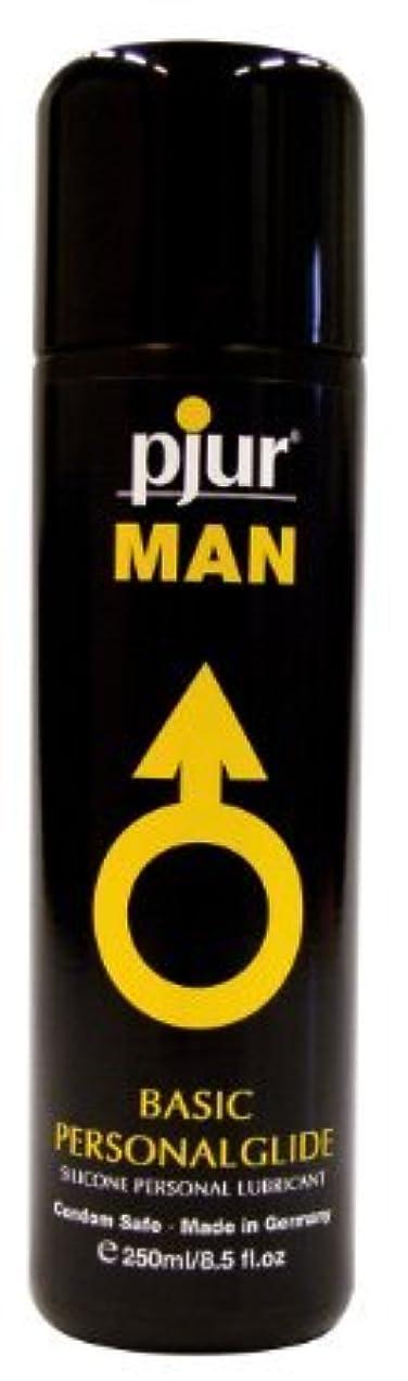 欠陥救い美徳Pjur Man Basic Personalglide Flasche Lubricant - 250ml
