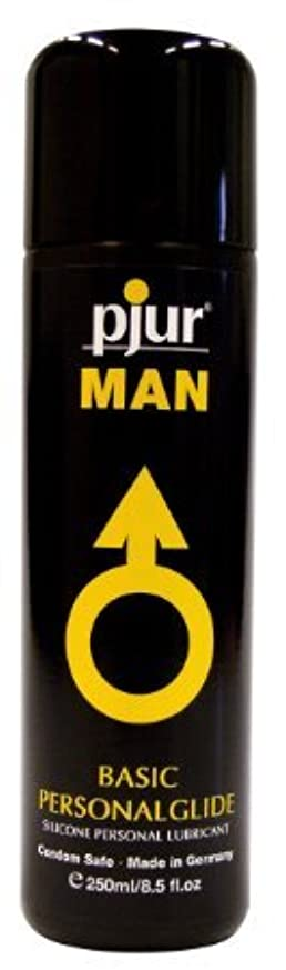 スーツケント宿Pjur Man Basic Personalglide Flasche Lubricant - 250ml