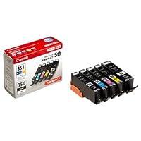 (まとめ) キャノン Canon インクタンク BCI-351XL+350XL/5MP 5色マルチパック 大容量 6552B001 1箱(5個:各色1個) 【×3セット】 AV デジモノ パソコン 周辺機器 インク インクカートリッジ トナー インク カートリッジ キャノン(CANON)用 [並行輸入品]