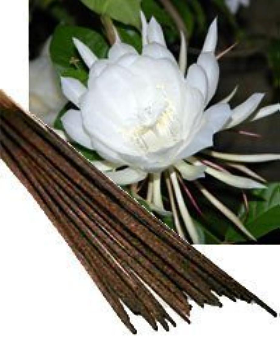 ハング行列繊維Night Queen Incense (Agarbatti) - (100 Gram Pack)