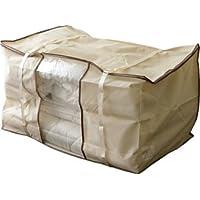 エムール 布団セット用収納ケース シングル(シングルの枕 掛け 敷き布団の3点セット程度の収納)