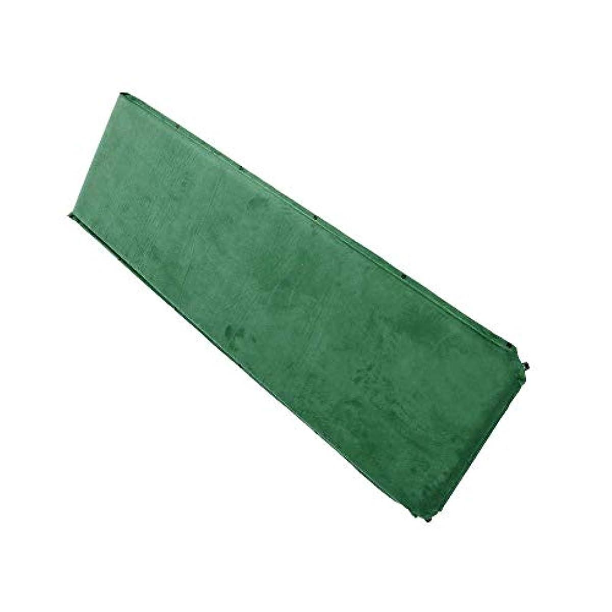 不機嫌そうな部分的剃るseiyishi キャンピングマット テントマット アウトドア マット エアーマット エアーベッド スエード生地 超軽量型 車中泊 エアーマット エアマット 耐水加工 コンパクト 厚さ9cm インフレータブル カラー:グリーン SY-ad188-gr
