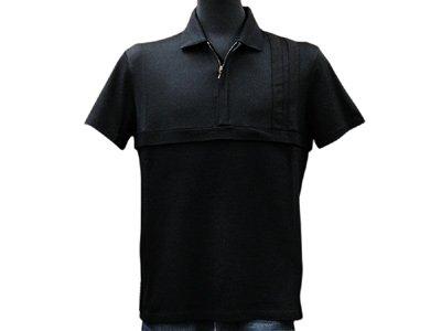 (プラダスポーツ) PRADA SPORTS メンズ ポロシャツ SJM669BK Lサイズ