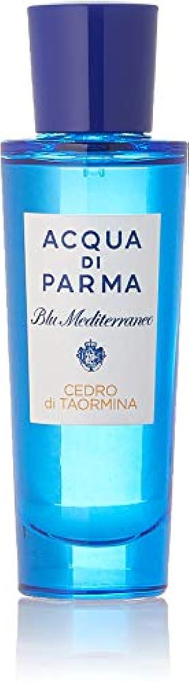 摂氏書誌炭素アクアディパルマ Blu Mediterraneo Cedro Di Taormina Eau De Toilette Spray 30ml/1oz並行輸入品