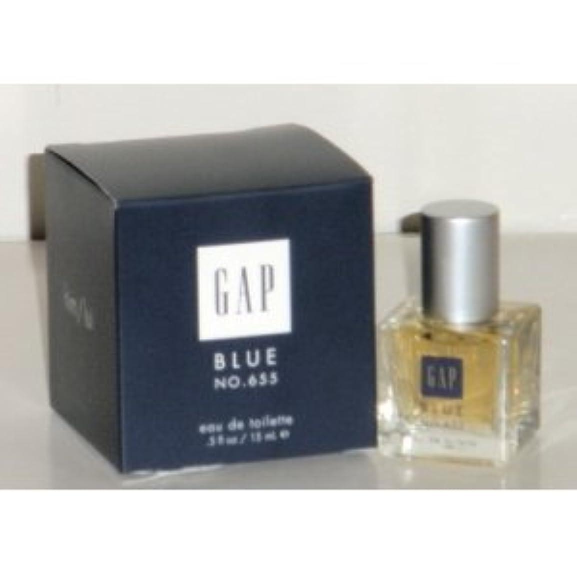酸化するめまいが牛Gap Blue No. 655 (ギャップブルーNo. 655 ) for Him 0.5 oz (15ml) EDT Spray by Gap for Men