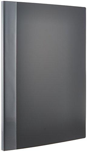 ナカバヤシ クリアブック クリアファイル A3 20ポケット ブラック CB1012D-N