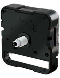 誠時(セイジ) 掛け時計用 クォーツ ムーブメント コチコチ音のしないスイープ秒針タイプ (文字盤の厚さ2mm六角ナット5mm 丸ナット7mmまで対応) SP-350