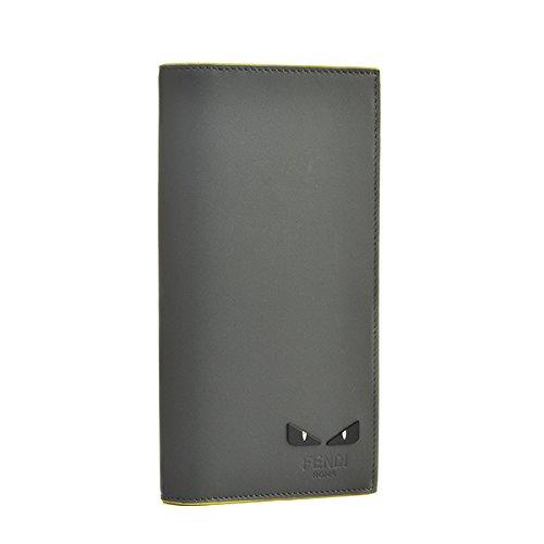 FENDI(フェンディ) 財布 メンズ MONSTER 2つ折り長財布 グレー 7M0186-A1W8-F082K [並行輸入品]