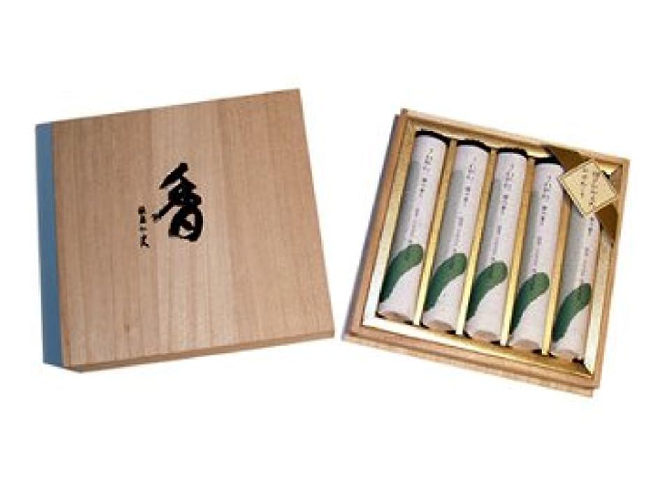 市町村揃えるリストさわやか檜の香り短寸5把桐箱