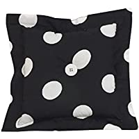 Cotton Tale BDDP Big Black Dot Decor Pillow