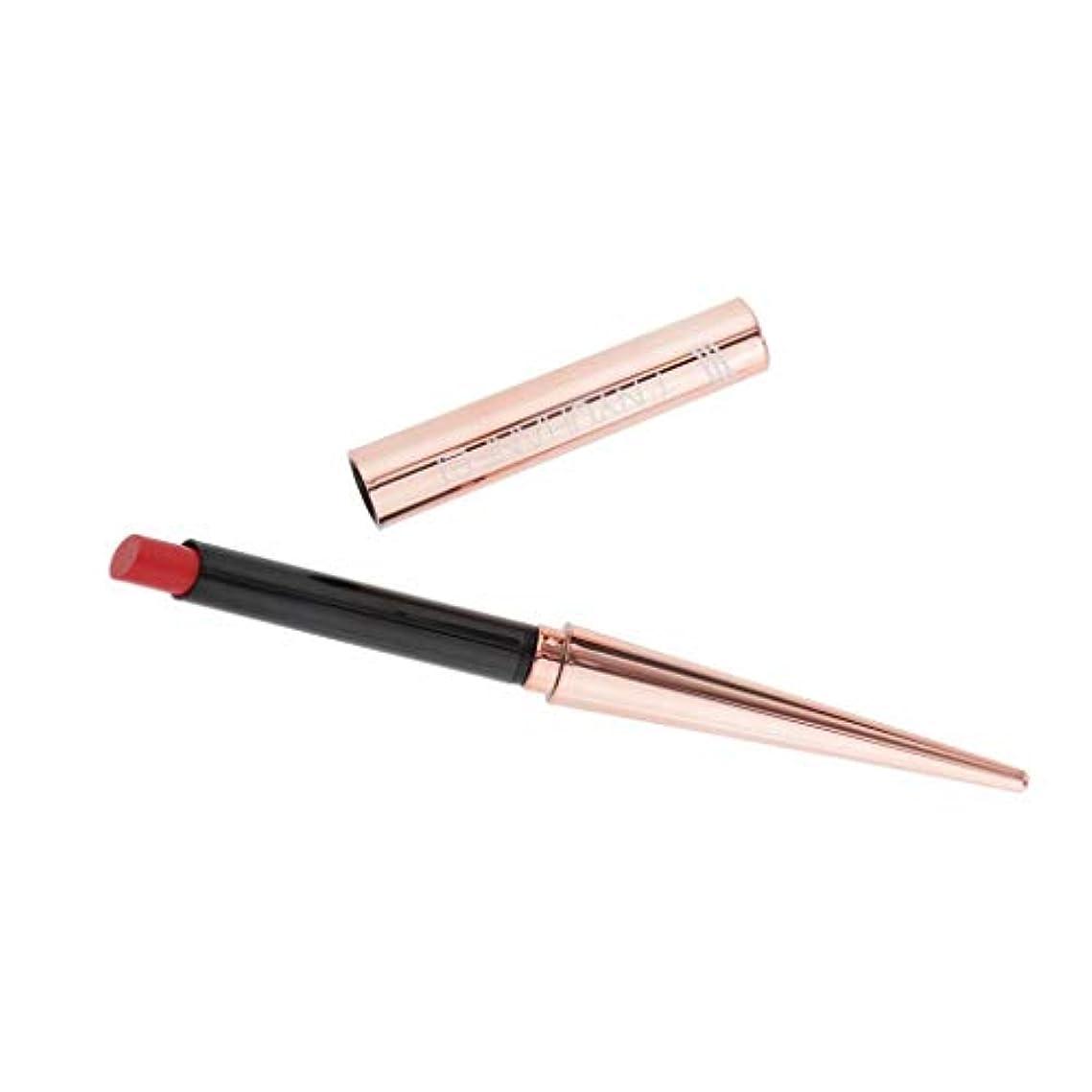 混合祈る覆すToygogo 毎日のパーティーのための保湿防水口紅化粧品ベルベットリップグロス - 赤, 12.5cm