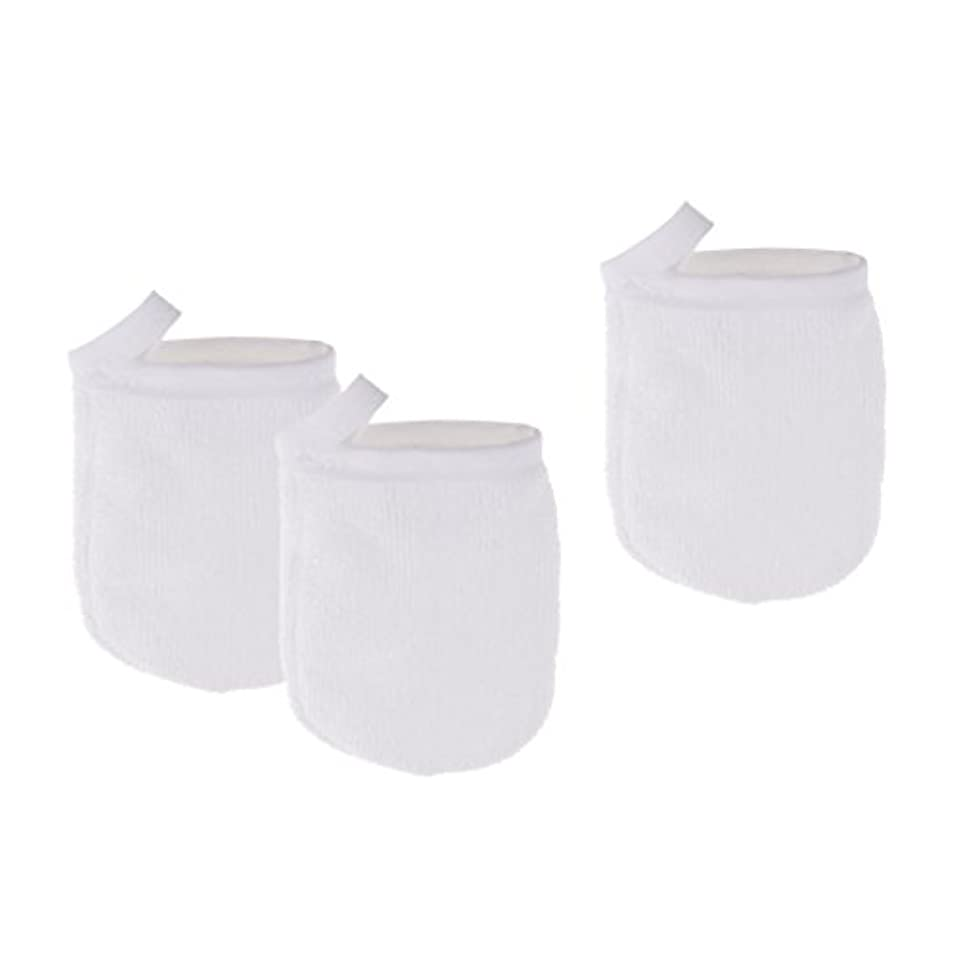 農場素晴らしき柔らかさHomyl 3個 洗顔グローブ クレンジンググローブ 手袋 グローブ 洗顔タオル メイク落とし スキンケア 再使用可