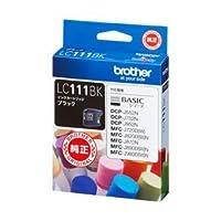 (業務用セット) ブラザー インクカートリッジ ブラック 1個 型番:LC111BK 【×3セット】 ds-1643325