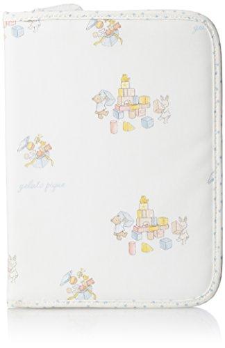 [ジェラート ピケ] 手帳ケース キッズルーム柄母子手帳ケース PWGG175603 86 BLU