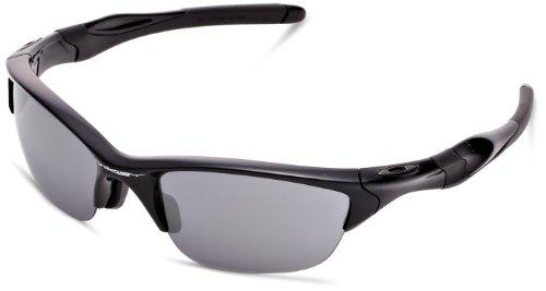 [オークリー] Oakley サングラス Half Jacket 2.0 メンズ Polished Black w/Black Iridium 日本 62-(Free サイズ) 9153-01