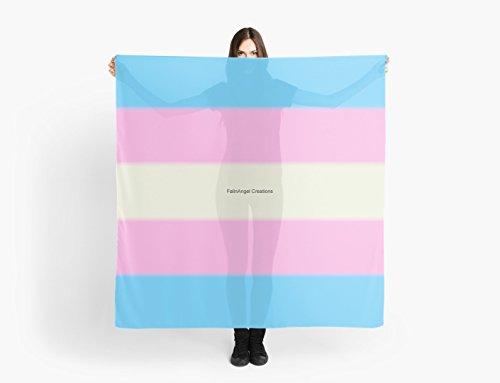 Transgender Pride Flag多目的スカーフ、ショール、ラップ、テーブルクロス