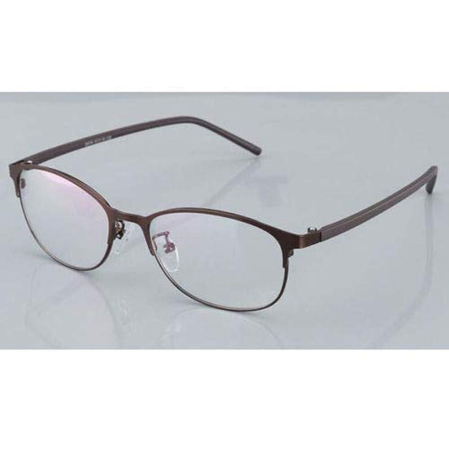 ごみ無礼に第二にFidgetGear 変色老眼鏡フォトクロミック眼鏡男性サングラスメタルフレーム 褐色