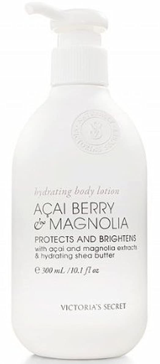 ガジュマル差別カートリッジVictoria's Secret Naturally Acai Berry Magnolia Body Lotion by Victoria's Secret